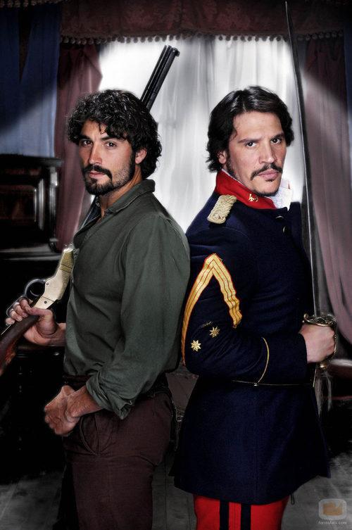 Álex García y Sergio Peris Mencheta