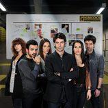 El equipo protagonista de 'Homicidios'