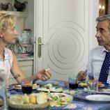 Ana Duato e Imanol Arias en la cocina de 'Cuéntame cómo pasó'