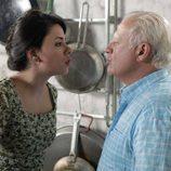 Paquita y Miguel discuten por la crisis en 'Cuéntame cómo pasó'