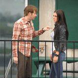 Lloyd Lowery señala con el dedo a Erica Reed en 'Ex-Convictos'