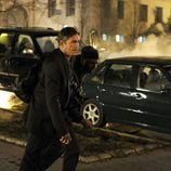 Jim Caviezel en acción en 'Person of Interest'