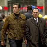 John Reese y Finch, personajes de Caviezel y Emerson en 'Person of interest'