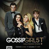 Poster promocional de la quinta temporada de 'Gossip Girl'