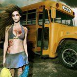 La zombie Ariadne Artiles es junio en el calendario de 'The Walking Dead'