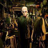 David Delfín se viste de zombie de 'The Walking Dead'