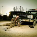 Felíx Gómez, abril en el calendario zombie de 'The Walking Dead'