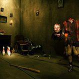 Santiago Segura, zombie sin cabeza en el calendario de 'The Walking Dead'