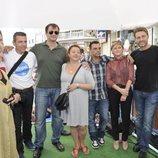 Los actores, en la celebración en Nerja del 30 aniversario de 'Verano azul'