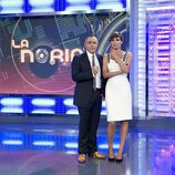 Jordi González y Sandra Barneda en 'La Noria'