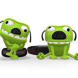 Trix y Trax, personajes de Los Megax de 'Megatrix'
