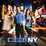 Sela Ward y Gary Sinise en la séptima temporada de 'CSI: NY'