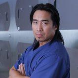 Ron Yuan posa para la séptima temporada de 'CSI: NY'
