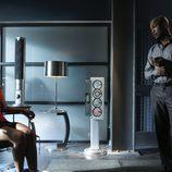 La actriz Lesley-Ann Brandt en 'CSI: NY'