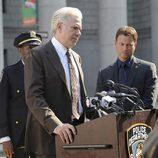 El actor John Larroquette en 'CSI: NY'