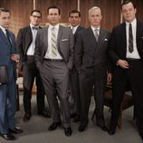 El reparto masculino de 'Mad Men'
