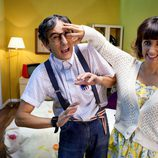 Ana morgade y David Fernández protagonizan 'Frikiliks'