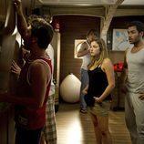 Los actores de 'El Barco' durante una escena del capítulo 'La Sirena'