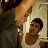Piti habla con Palomares en 'El Barco'