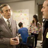 Luis Varela (Jesús Cobo) con Antonio Molero (Sebas)