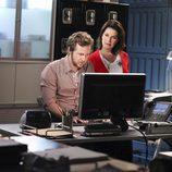 Sela Ward y A.J Buckley de 'CSI: NY'