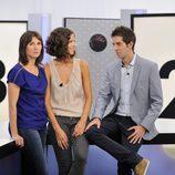 Laia Portaceli, Cristina Teva y David Broncano