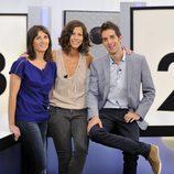 Laia Portaceli, Cristina Teva y David Broncano en 'Tentaciones'