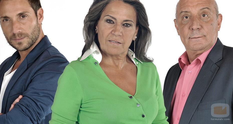 Antonio David Flores, Mari Ángeles Delgado y el Dioni
