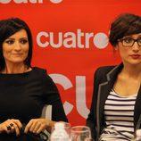 Silvia Abril y Ana Morgade durante la presentación de 'Las noticias de las 2'