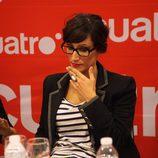 Ana Morgade en la presentación de 'Las noticias de las 2'