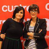 Silvia Abril y Ana Morgade presentan 'Las noticias de las 2' en Cuatro