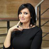 Silvia Abril, pensativa en la presentación de 'Las noticias de las 2'