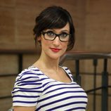 Ana Morgade en los pasillos de Mediaset España