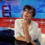 Ana Morgade en el plató de 'Las noticias de las 2'