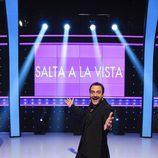 Roberto Vilar, presentador de 'Salta a la vista' desde este lunes
