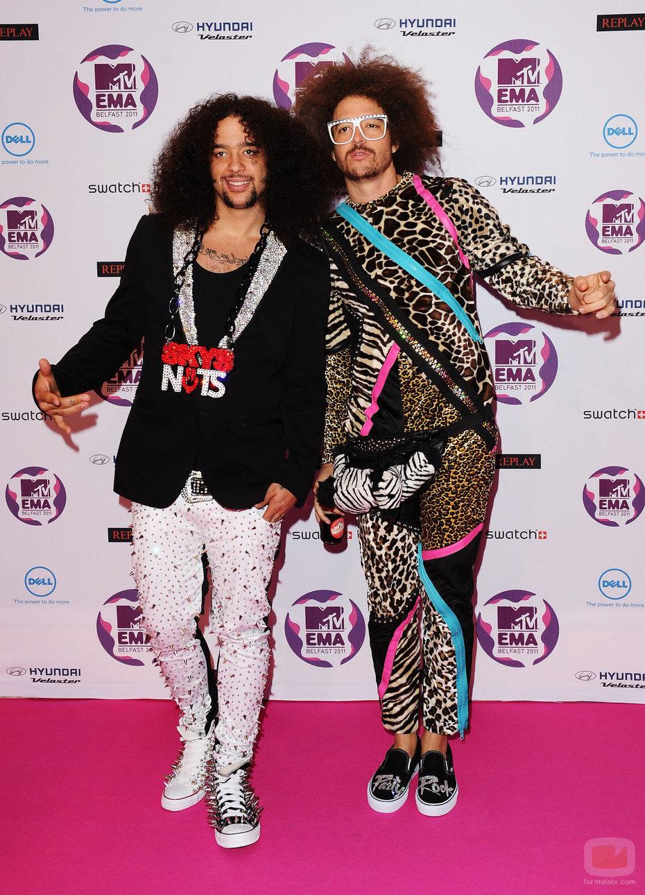 LMFAO en los MTV EMA 2011