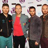 Coldplay en los MTV EMA 2011