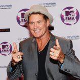 David Hasselhoff en los Europe Music Awards 2011