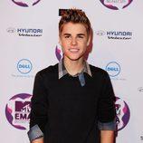 Justin Bieber en los MTV EMA 2011