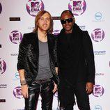 David Guetta y Taio Cruz en los MTV EMA 2011