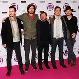 Snow Patrol en los MTV EMA 2011