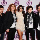 Selena Gomez y The Scene en los MTV EMA 2011