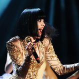Jessie J cantando en los MTV EMA 2011