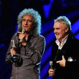 Queen reciben su premio MTV EMA 2011
