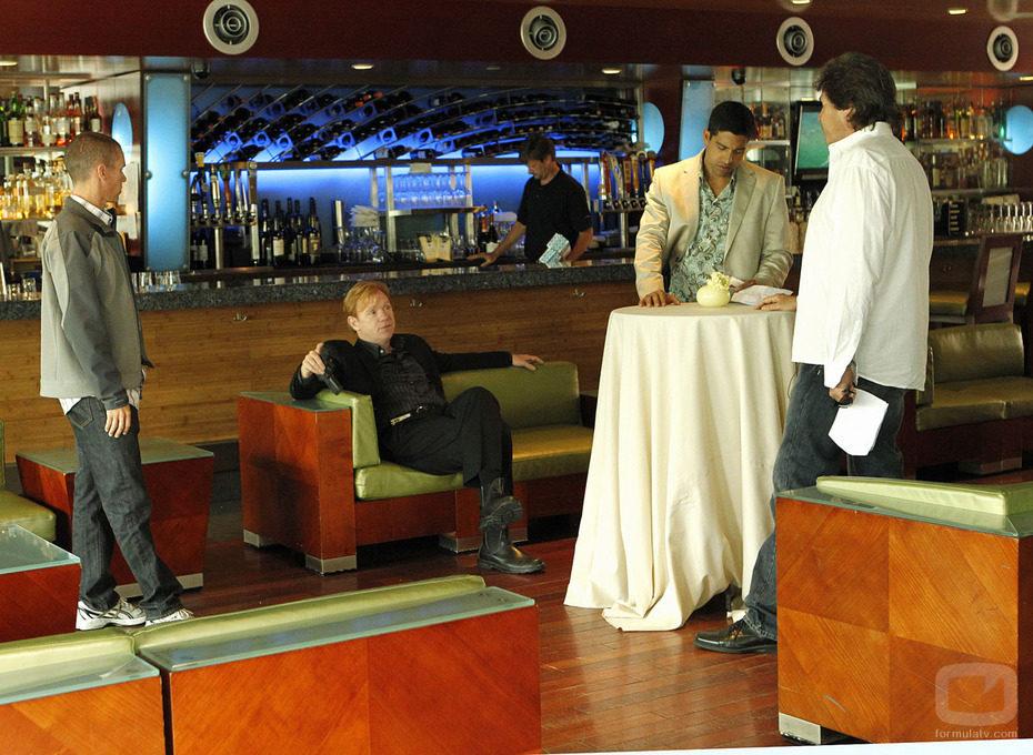 David Caruso lidera el equipo de 'CSI: Miami'