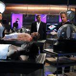 Sela Ward durante un capítulo de la séptima temporada de 'CSI: NY'