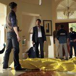 David Rossi en la escena del crimen
