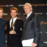 Juanjo Artero recoge su Premio Protagonistas 2011