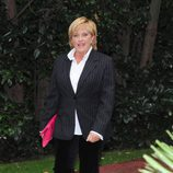 Chelo García Cortés llegando a los Premios Protagonistas 2011