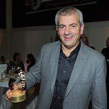 Carlos Sobera recogió su Premio Protagonistas 2011